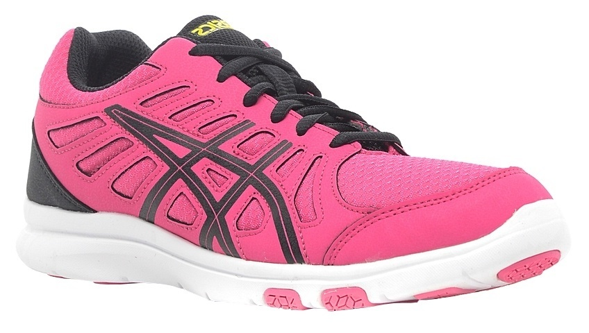asics dames hardloopschoenen roze
