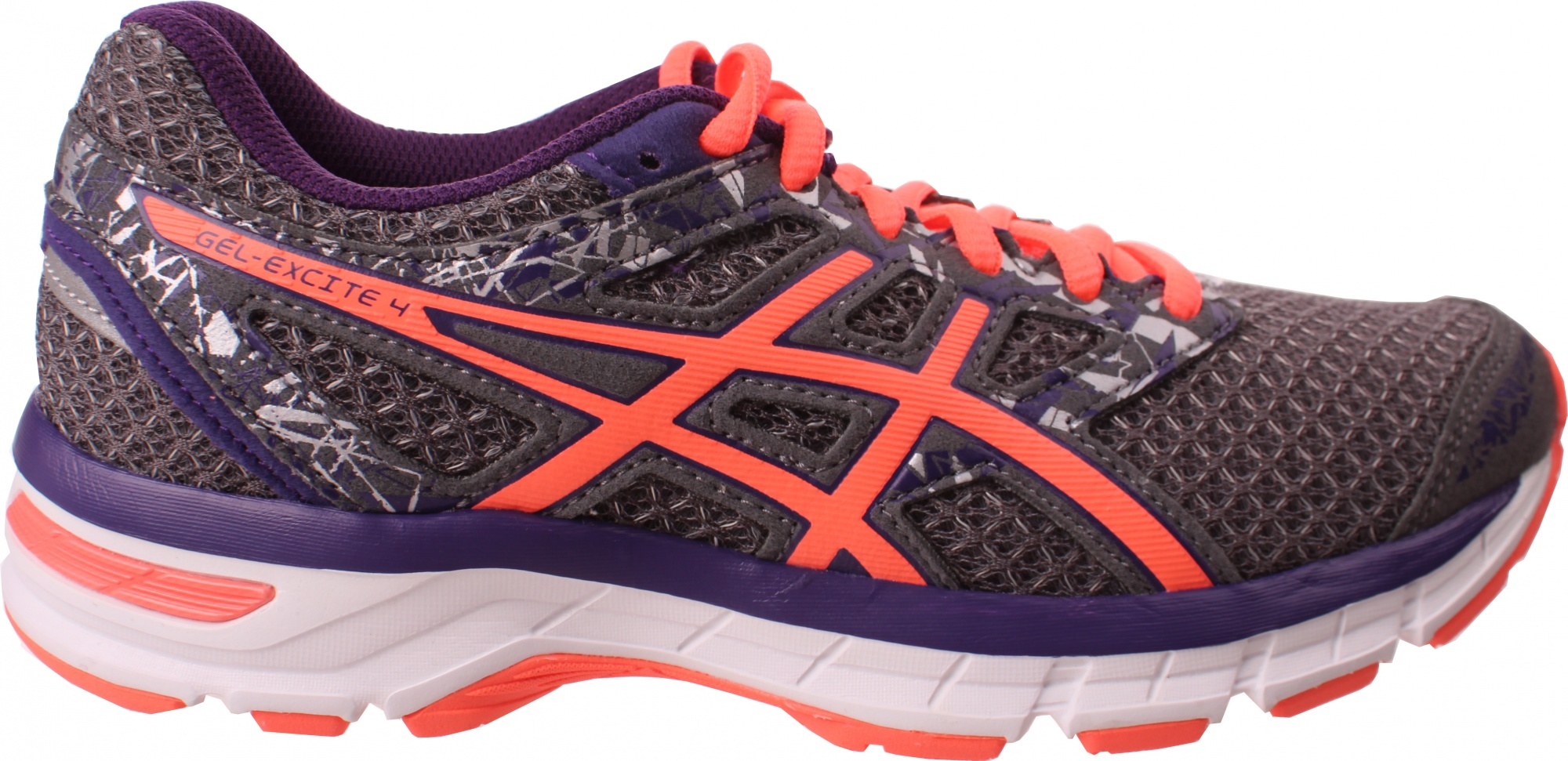 a59daf7a8 ASICS running shoes Gel-Excite 4 women gray - Internet-Sport Casuals