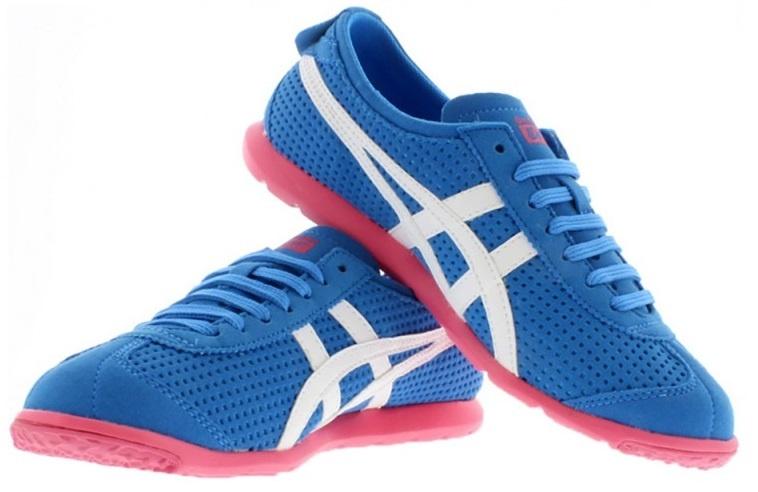 3b598f661dff ASICS sneakers Onitsuka Tiger Rio Runner blue ladies - Internet ...