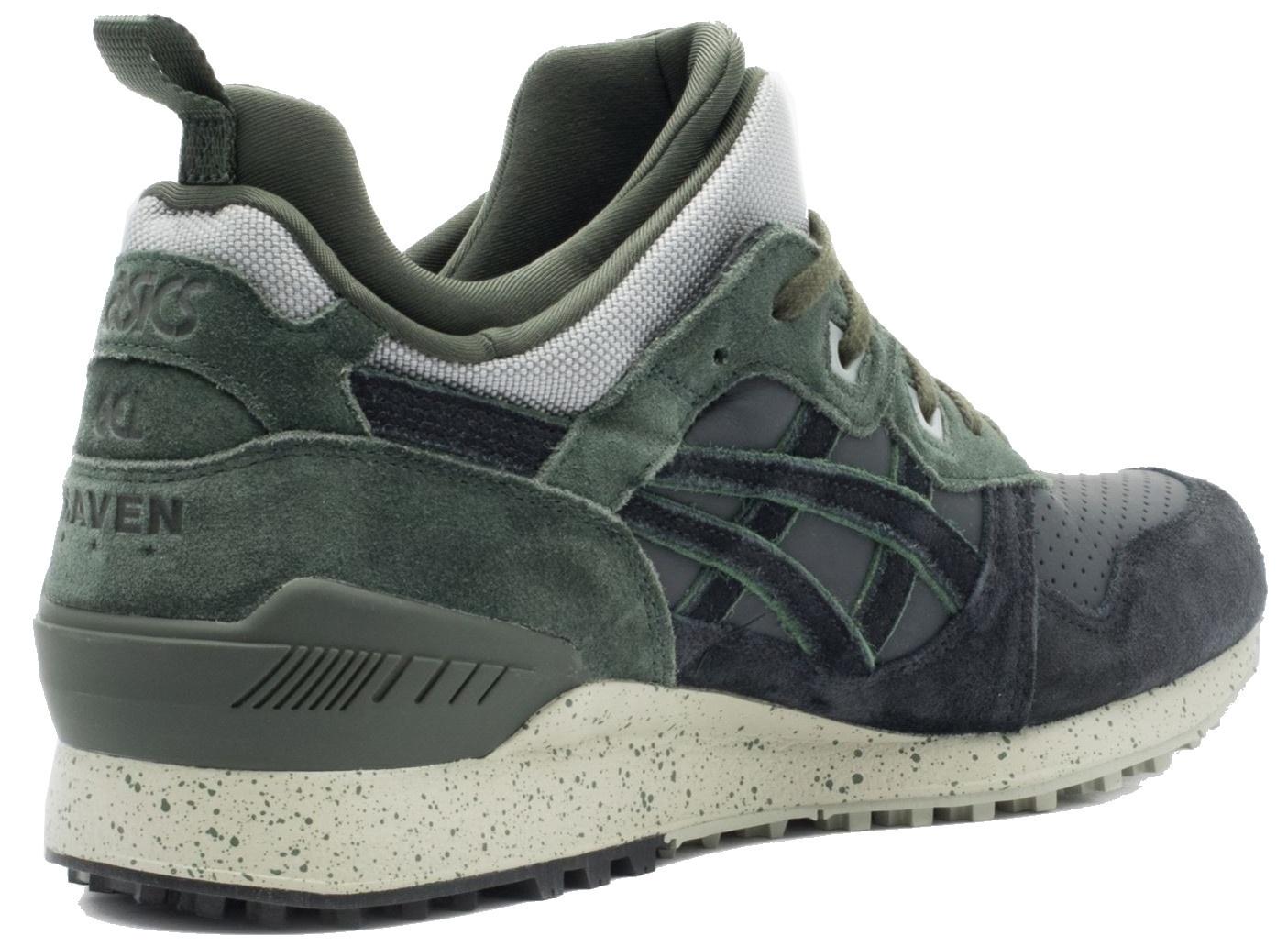 asics sneakers heren groen