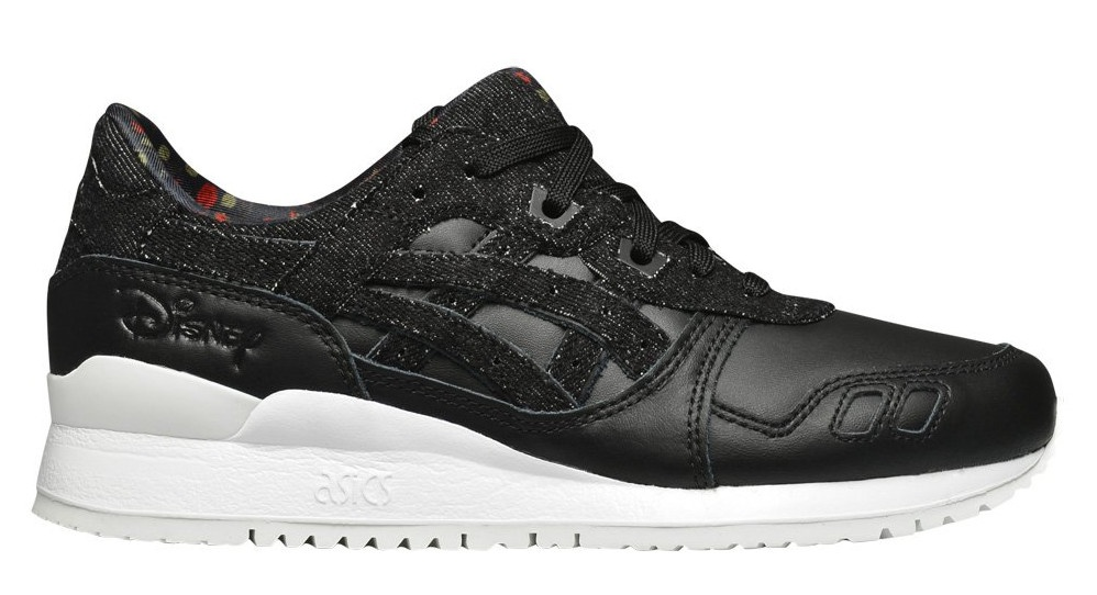 ASICS sneakers Gel Lyte III ladies black Disney Internet