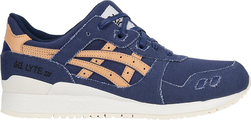 reputable site 7764b 704ce ASICS sneakers Gel Lyte III men's blue / brown - Internet ...