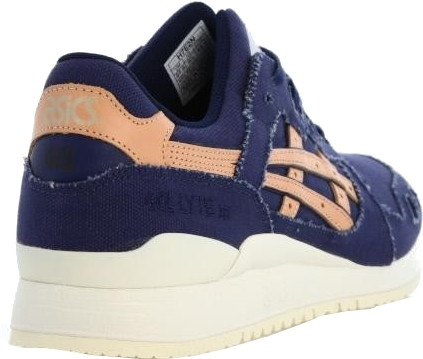 d844f4e4434 ASICS sneakers Gel Lyte III men blue / brown - Internet-Sport&Casuals