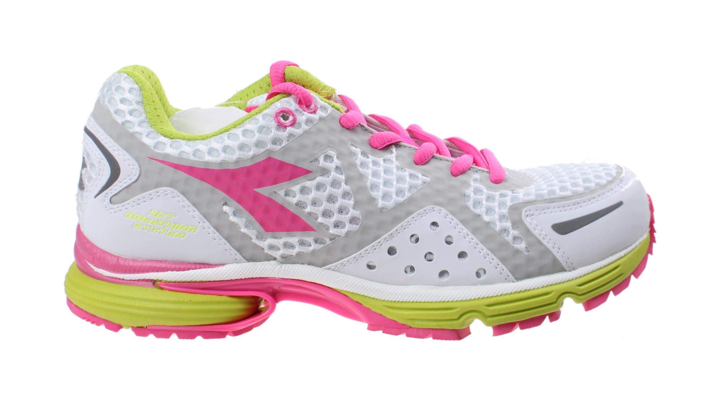 2ac91547 N6100-1 W running shoe Ladies White-Pink