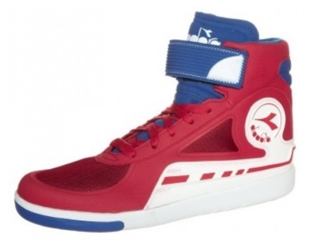 605a3e11 sneakers AFS-Basket men's red/blue