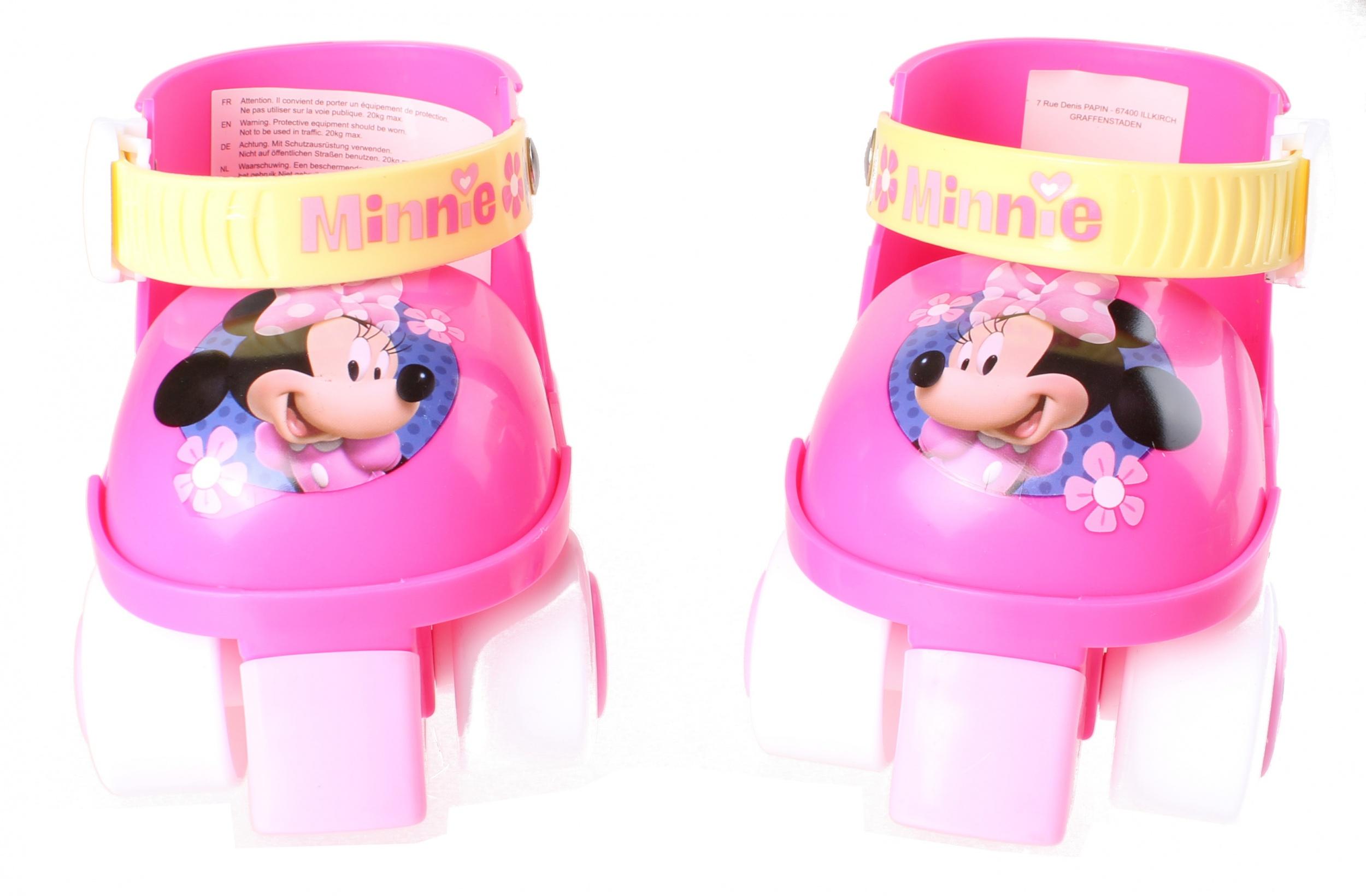 Disney Rollschuhe Minnie Mouse Mädchen Rosaweiß Internet