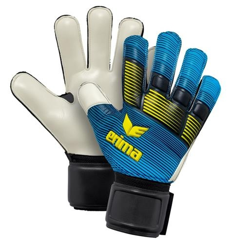 goalkeeper gloves Skinator Protect blue
