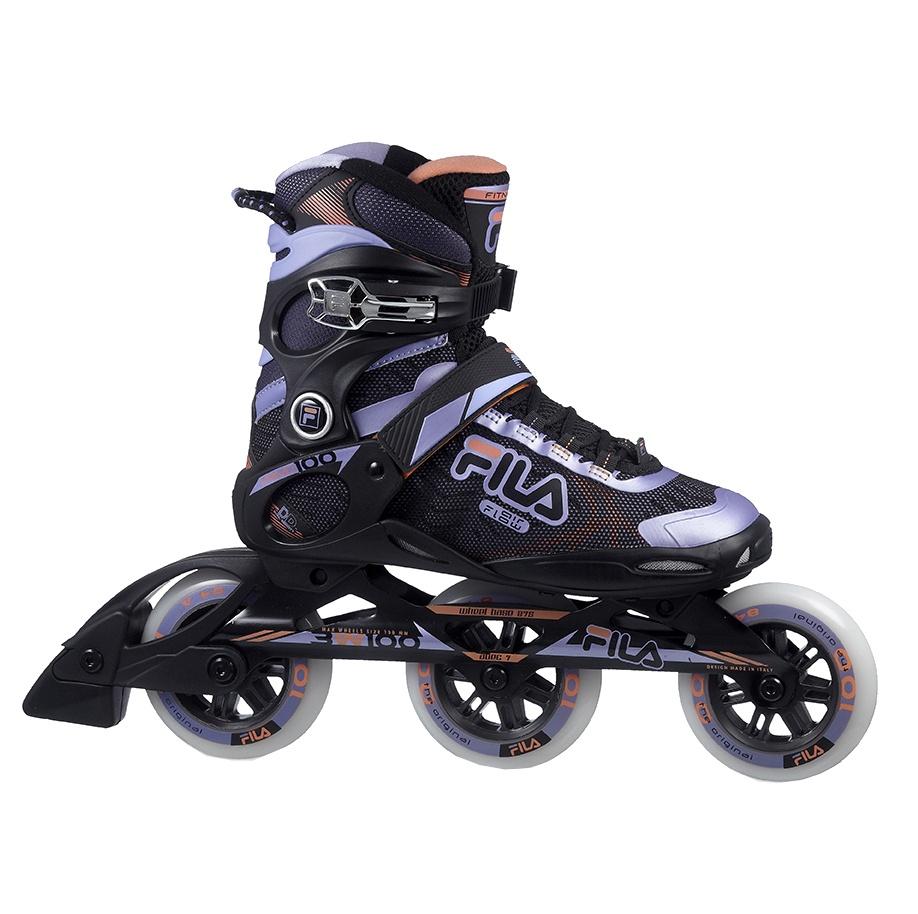 df619fa7489 Fila inline skates Primo 100 ladies black / purple - Internet ...