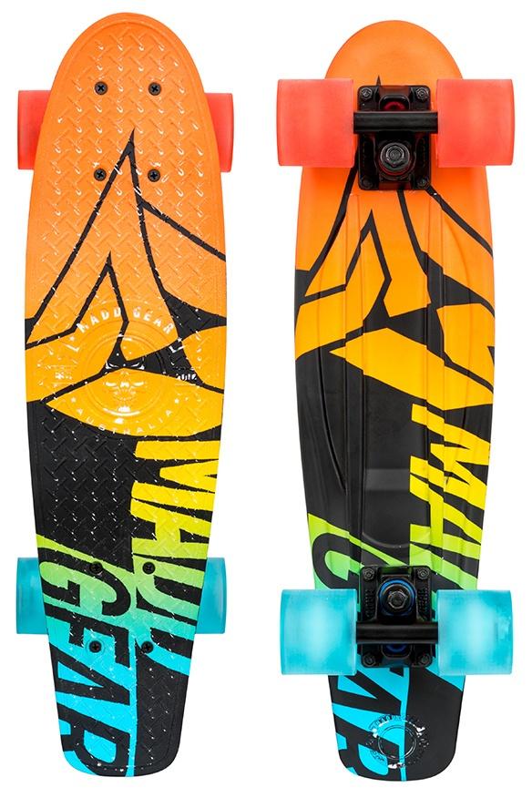 0218d7b507 skateboard Retro 56 cm orange