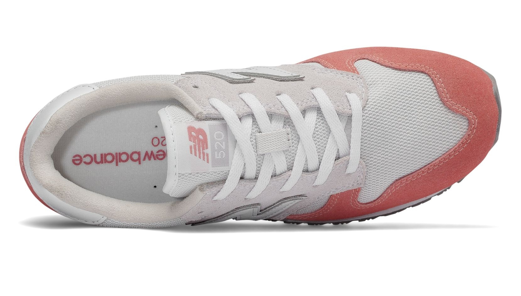 newest 391b0 cd138 ... New Balance sneakers WL 520 TD ladies pink   gray ...
