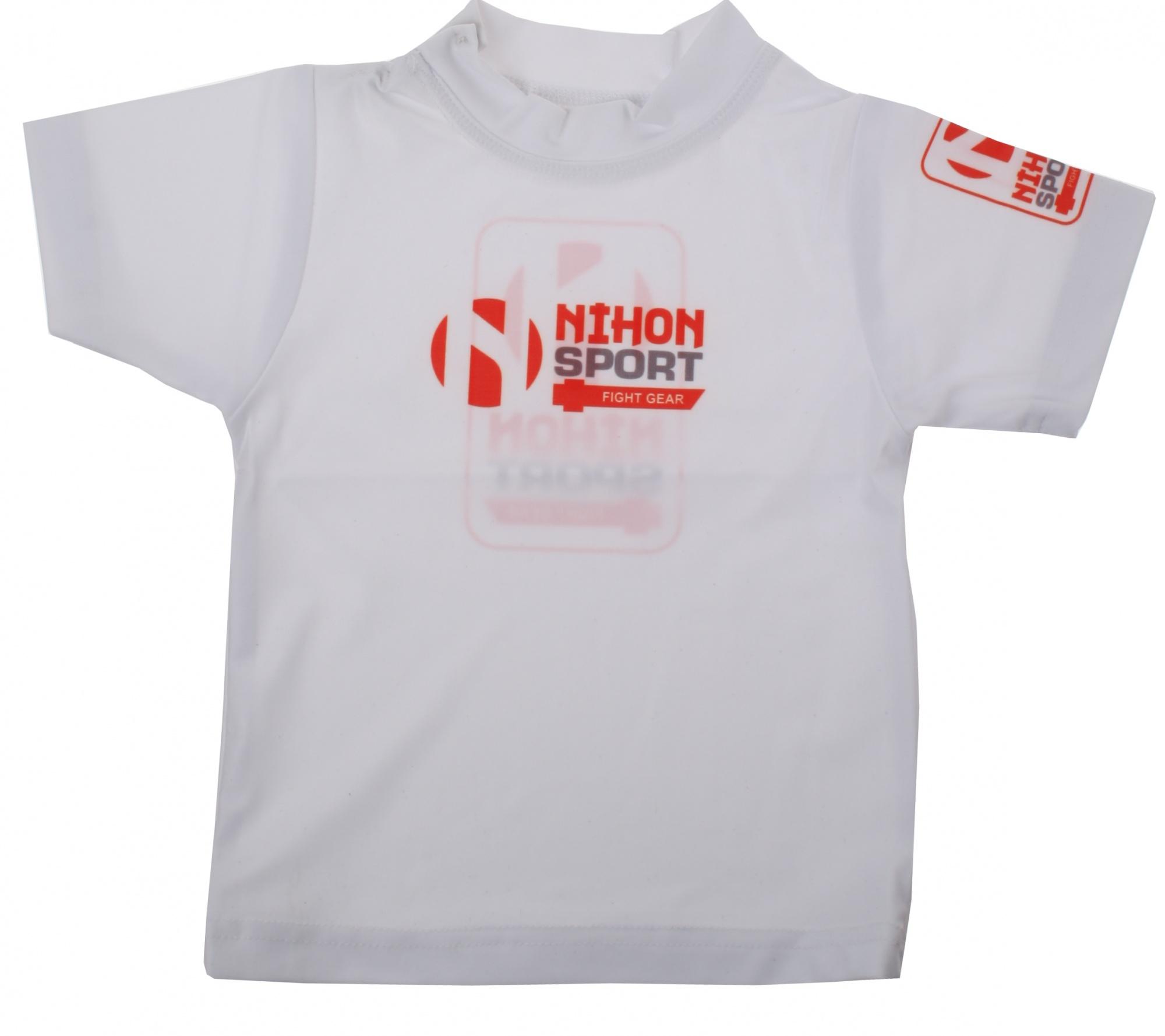 Nihon T-shirt bébé blanc junior - Internet-