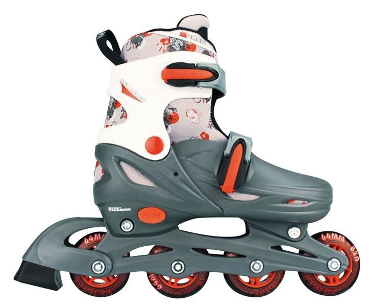 Inline Skates Junior Adjustable Hard Boot