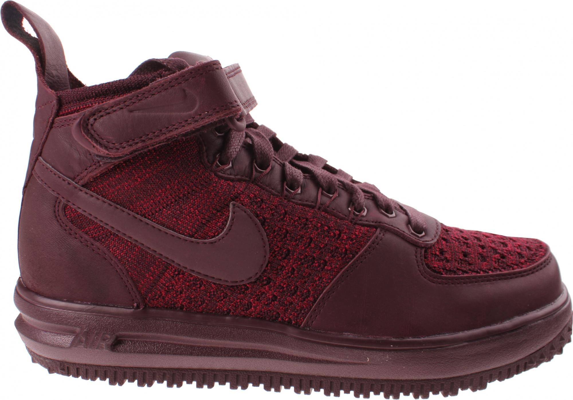 best service 92a27 a695b Nike sneaker Lunar Force 1 Flyknit ladies burgundy ...