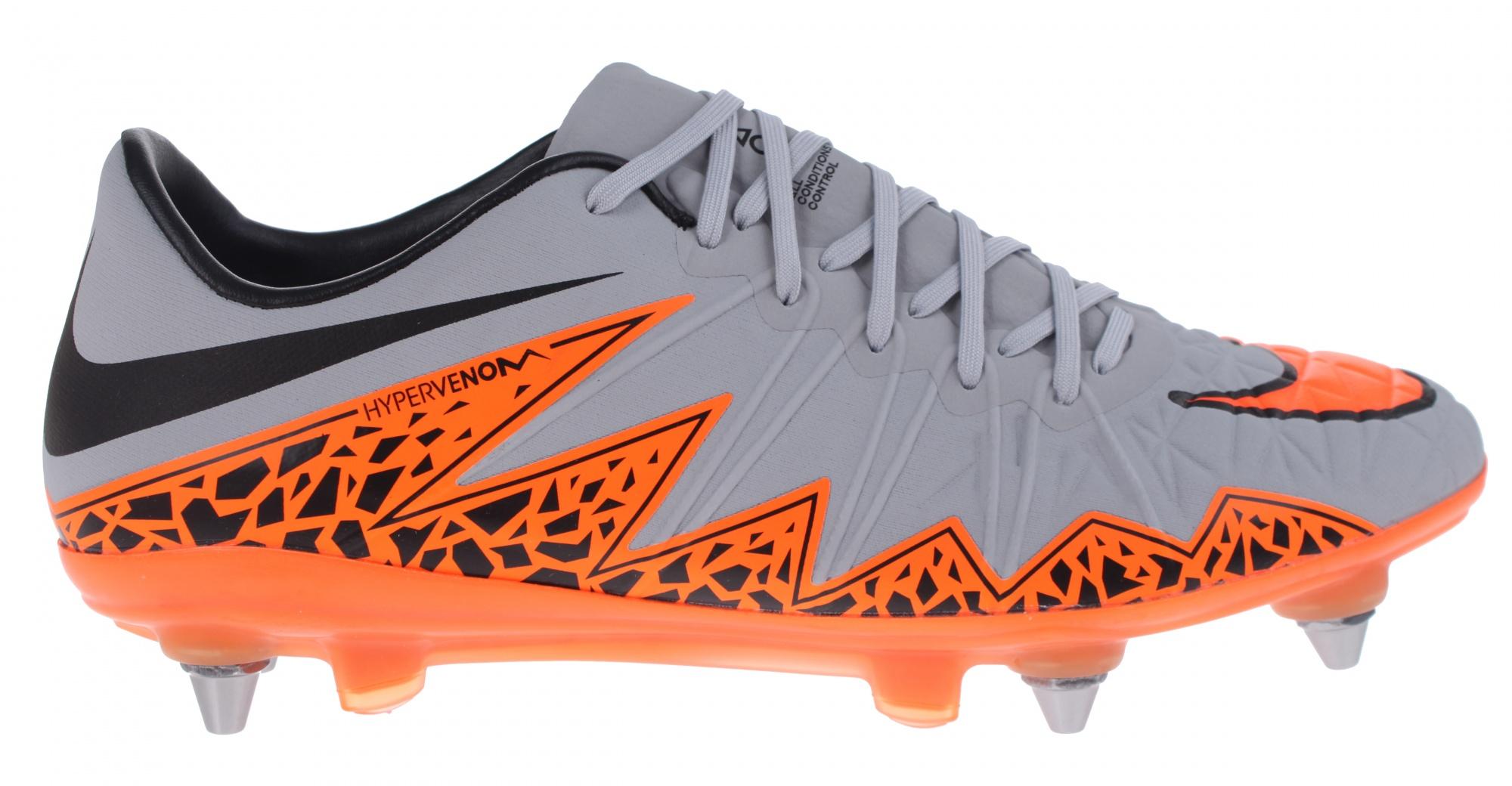 b267161d76d0 Nike soccer Hypervenom Phinish SG-Pro gray men - Internet-Sport Casuals