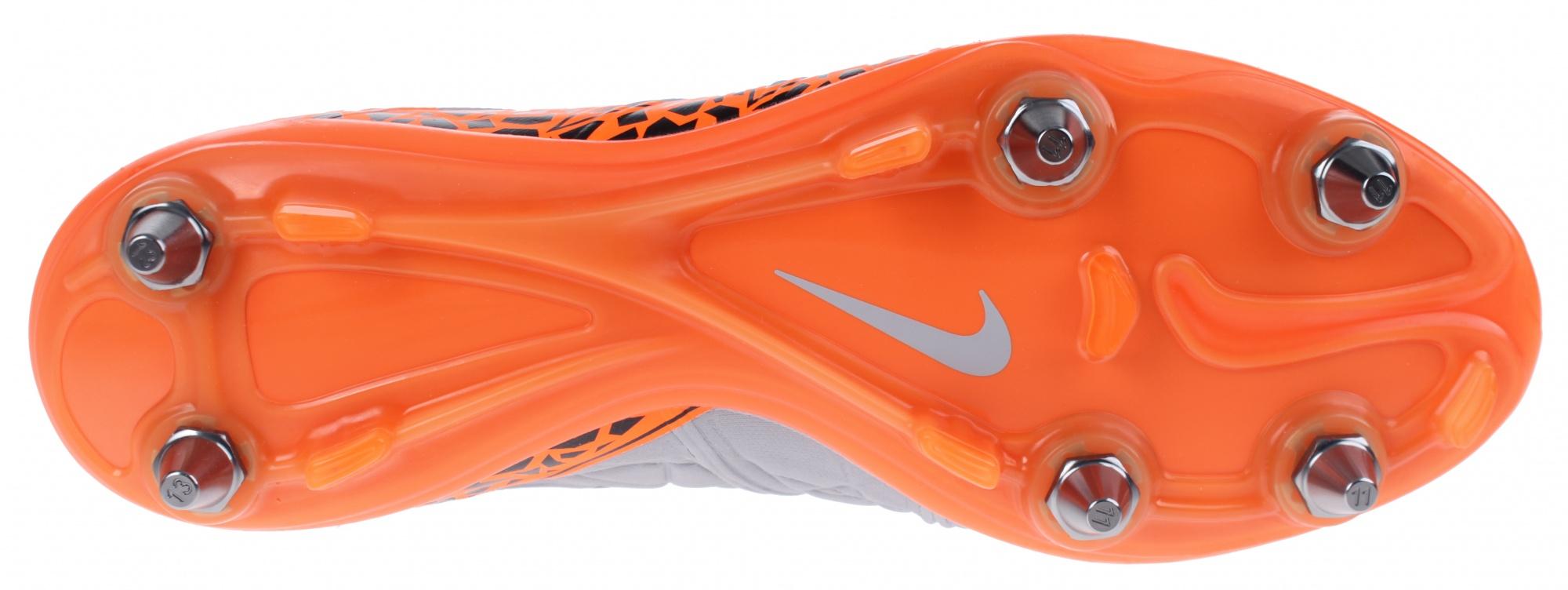 Nike voetbalschoenen Hypervenom Phinish SG Pro grijs heren
