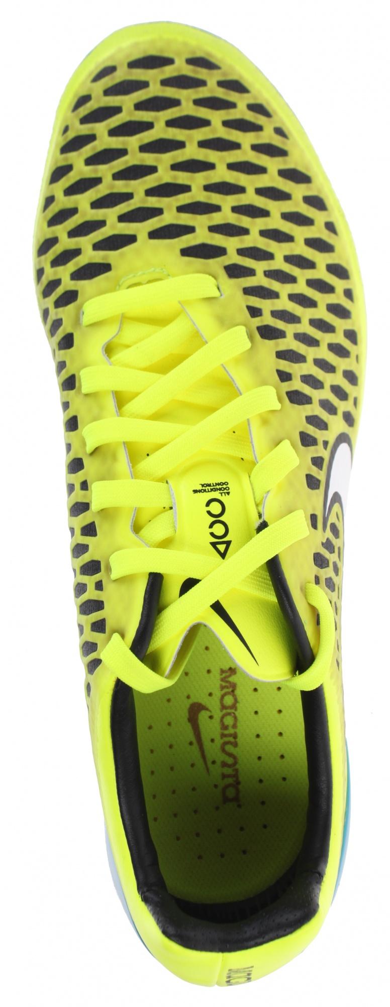 Nike voetbalschoenen Magista Opus AGR geel dames Internet