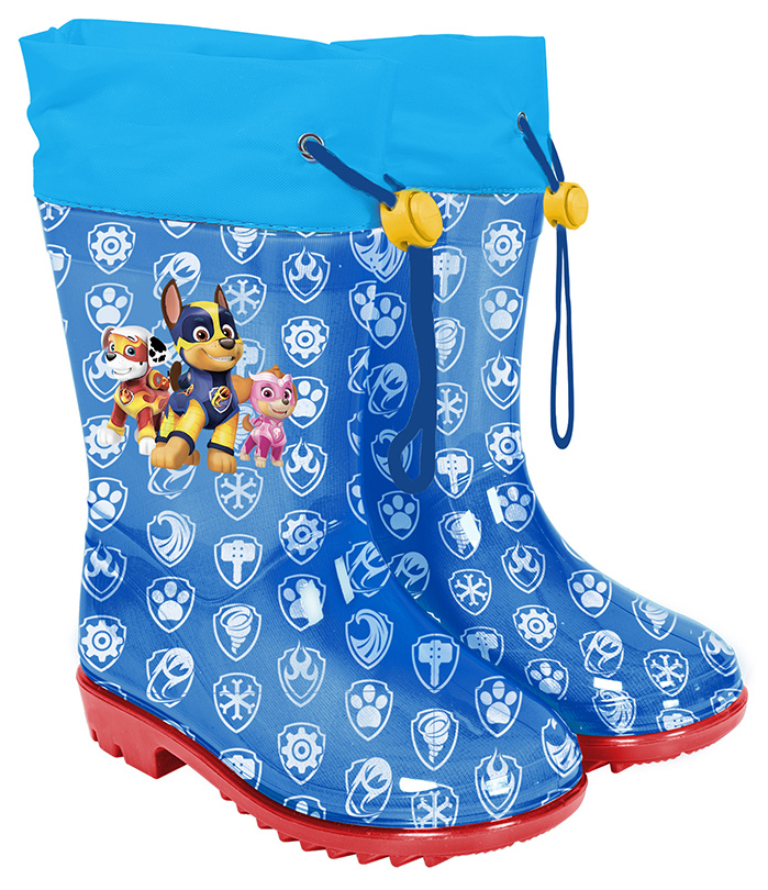 rain boots Paw Patrol boys rubber blue