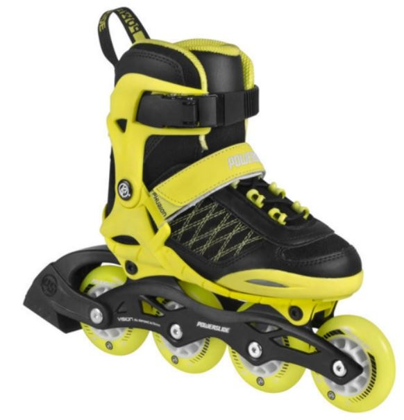 Powerslide Junior Skates: Powerslide Inline Skates Galaxy Verstelbaar Junior Geel