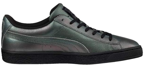 425835083648d8 Puma Basket Classic Holographic Sneakers Ladies Gray - Internet ...