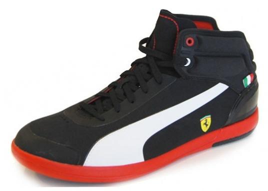 78fce7e2e1f Puma Ferrari Driving Power Light Heren Sneakers Zwart - Internet ...