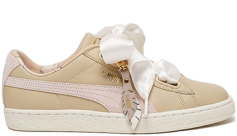 best service f0788 e6c96 sneakers Baskert Heart Coach FM ladies cream