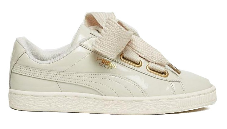 a362cad82a51 Puma sneakers Basket Heart Patent ladies cream - Internet-Sport Casuals