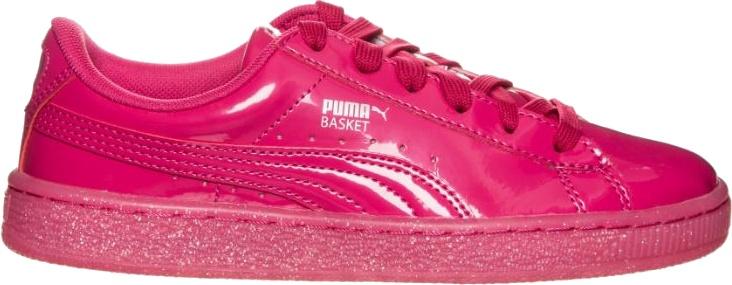 344bda71dec1 Puma sneakers Basket Patent Iced Glitter Junior Pink - Internet ...