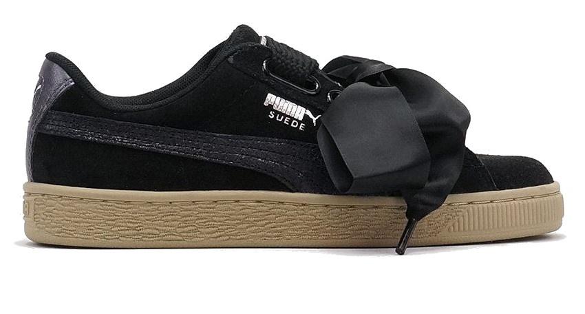 pas mal 08b0c 9f2c8 sneakers Suede Heart Safari ladies black