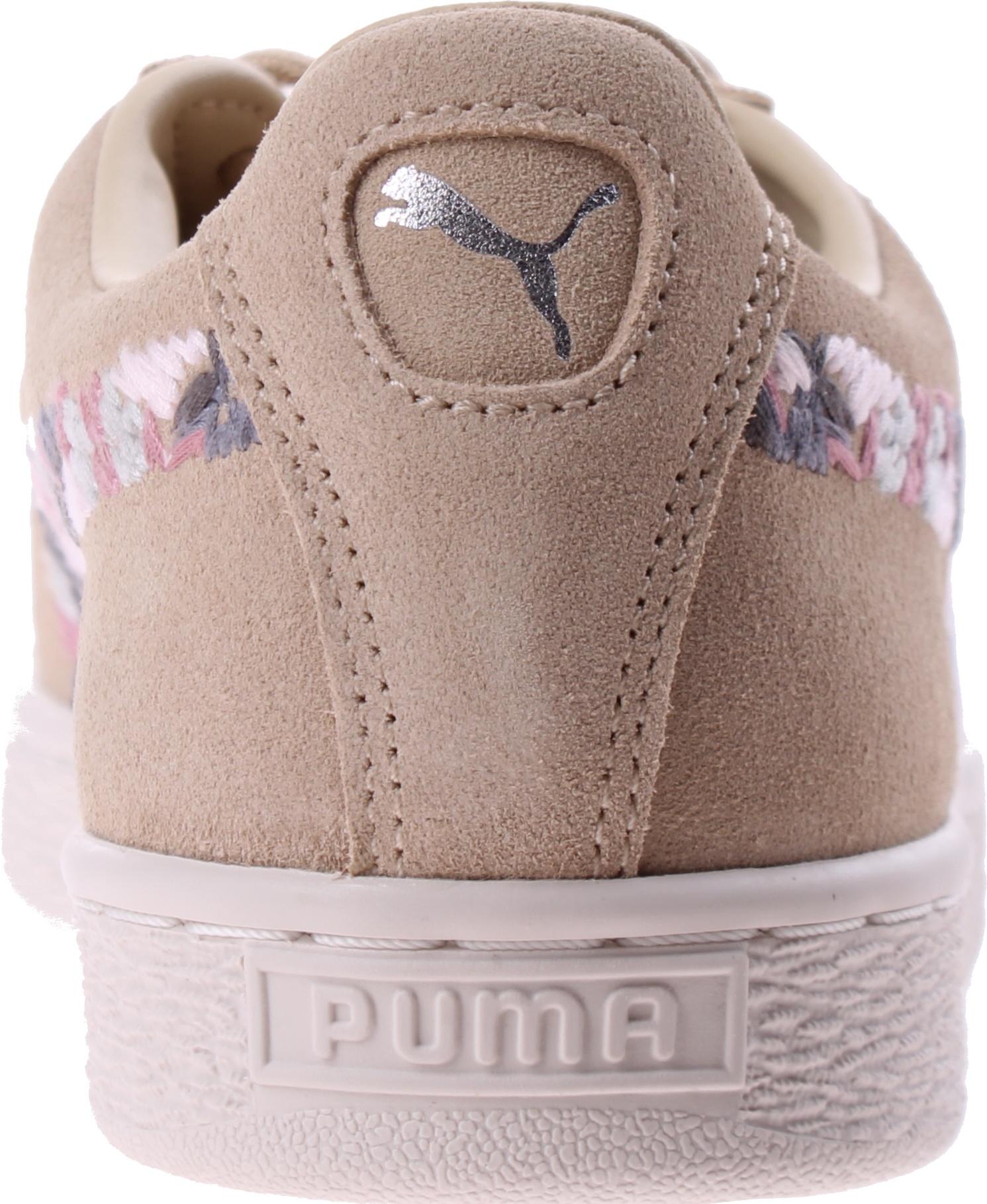 cheap for discount f4c77 99f23 Puma sneakers Suede Sunfade Stitch women beige - Internet ...