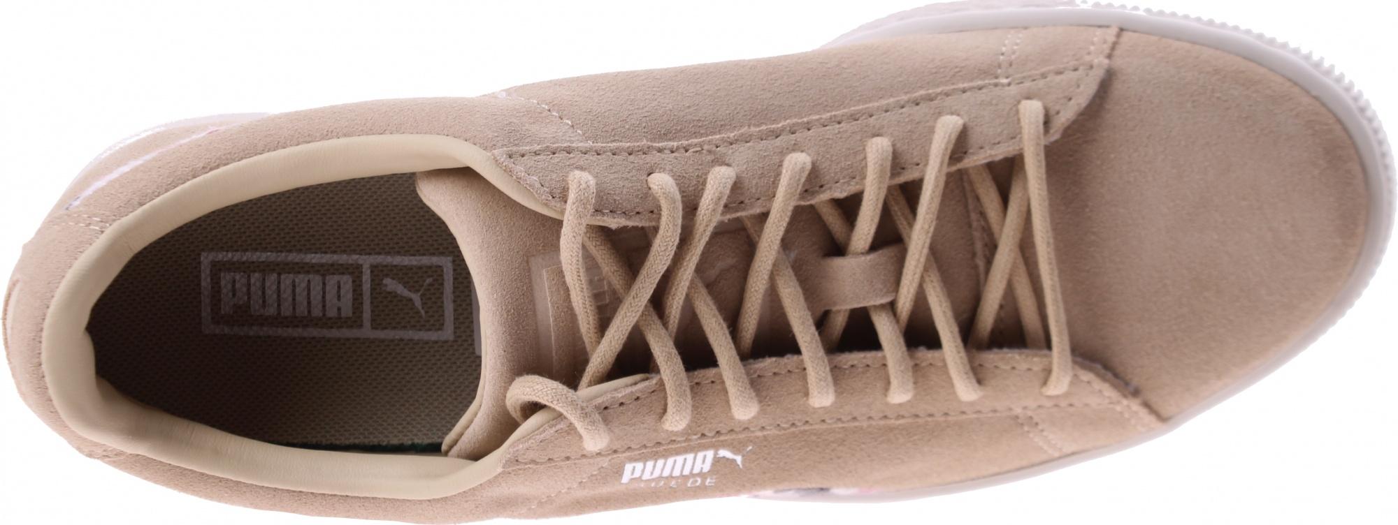 cheap for discount c3044 ccfbe Puma sneakers Suede Sunfade Stitch women beige - Internet ...