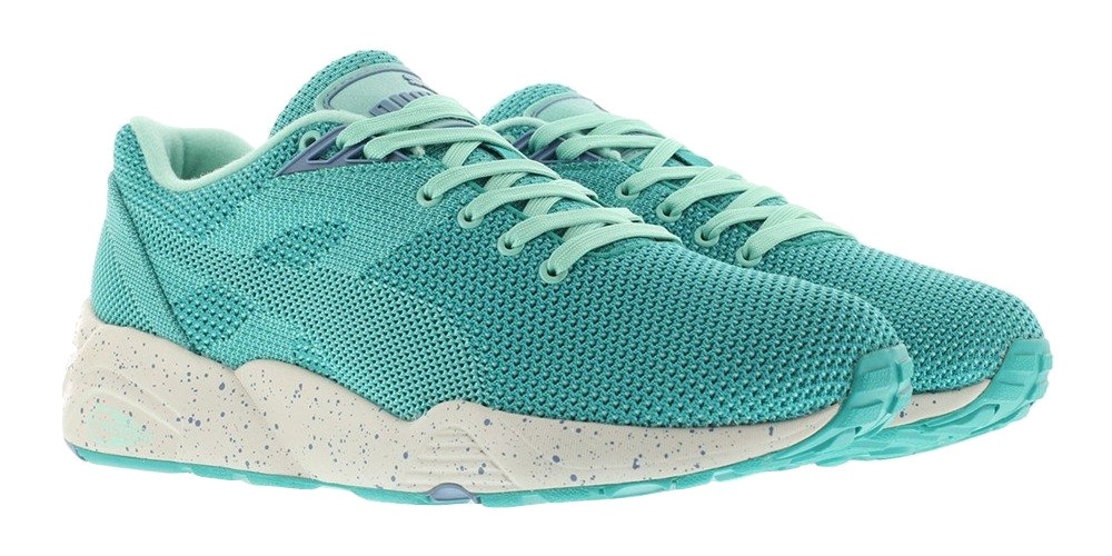 Puma sneakers Trinomic R698 km V2 heren turquoise Internet