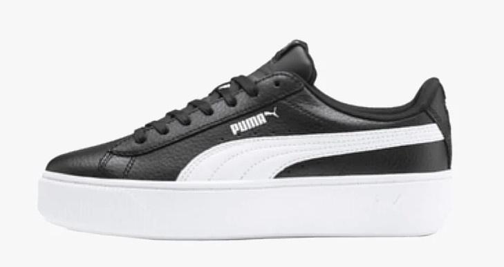 VIKKY PLATFORM Sneaker low blackwhite @