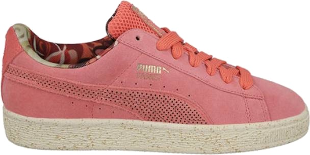 Puma sneakers x Careaux x Rose Basket pink ladies - Internet ... f661c201a06