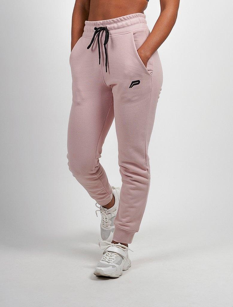 bfc54cd4c3fb Pursue Fitness fleece sports trousers ladies pink Pursue Fitness fleece  sports trousers ladies pink ...