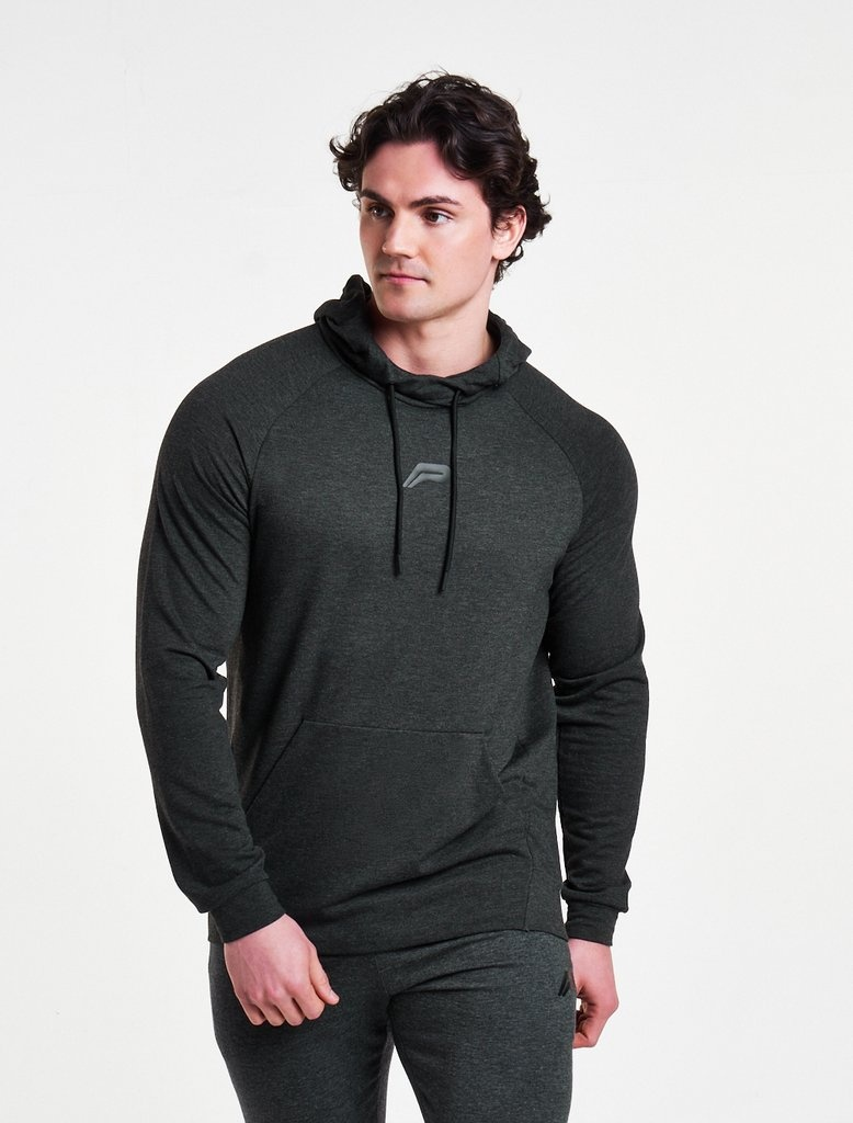 Fitness Hoodie Heren.Pursue Fitness Response Hoodie Men Grey Internet Sport Casuals