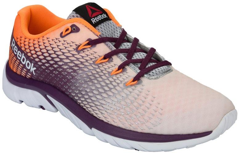 031d08bc7f21 Reebok running shoes ZStrike Elite ladies gray   orange - Internet ...