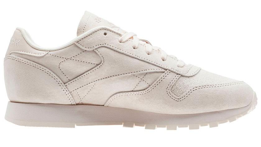 Licht Roze Sneakers : Reebok sneakers classic leather nbk damen hellrosa internet