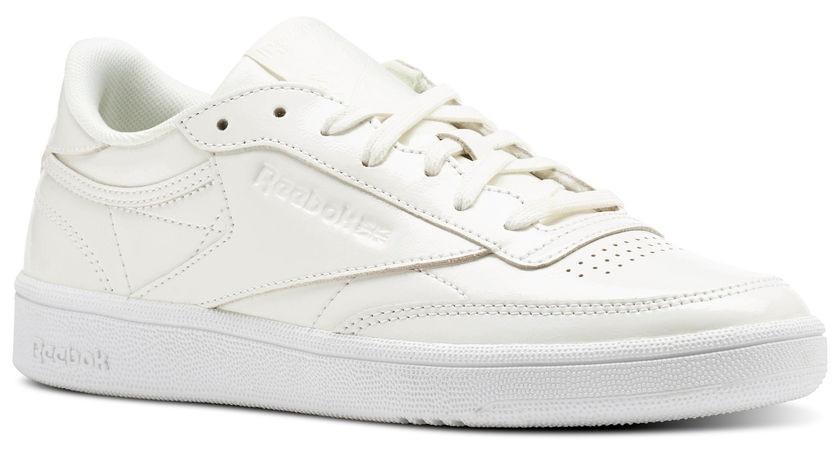 195931c4923 Reebok sneakers Club C 85 Patent ladies white - Internet-Sport&Casuals