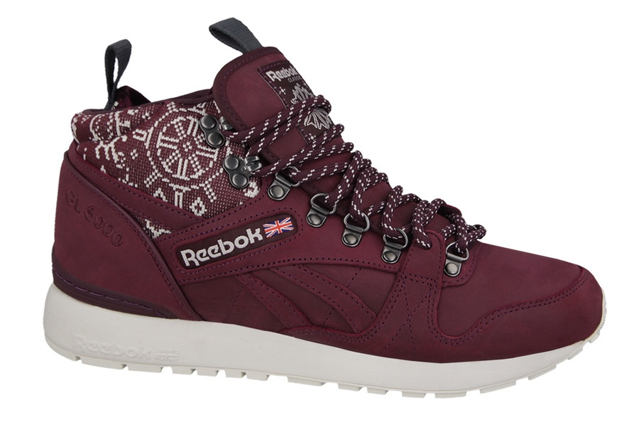 df7dcd01c17 Reebok Sneakers GL 6000 MID SG men's burgundy red - Internet ...