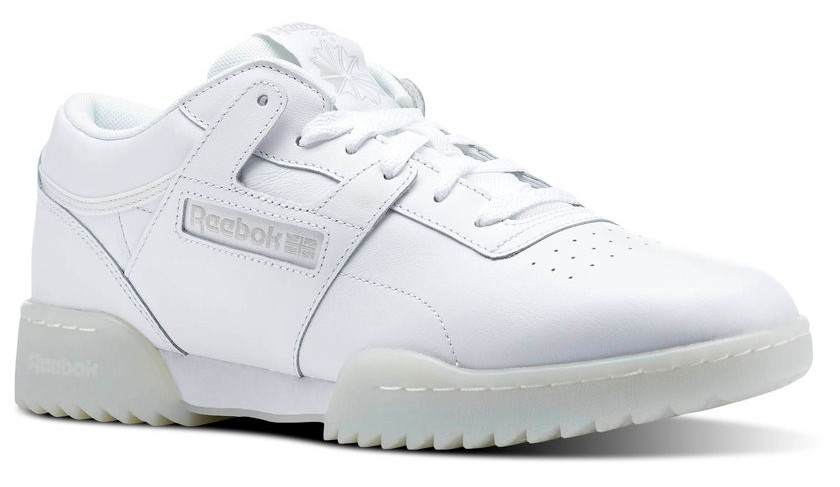 Reebok sneakers Workout Clean Ripple Ice men white - Internet ... 98ae15a48