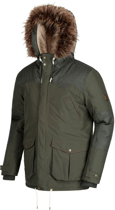 e8a84d809053 Regatta Aldrich winter jacket khaki - Internet-Sport Casuals