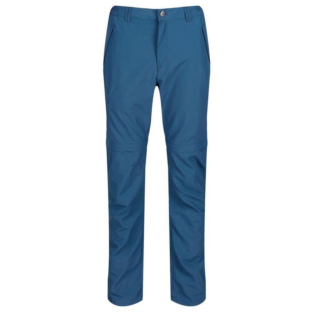 6f33ea51603 Regatta outdoor pants Leesville Zip-Off men's blue - Internet ...