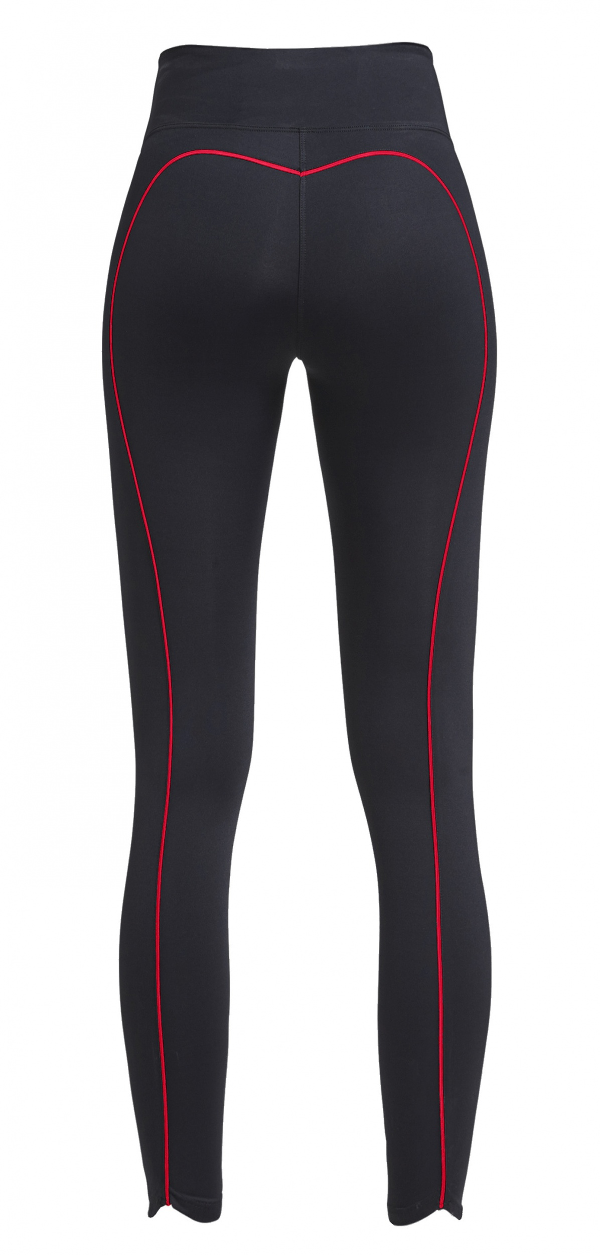 Shaping Sportlegging.Rohnisch Sport Laying Shape Sleek Ladies Black Red Internet