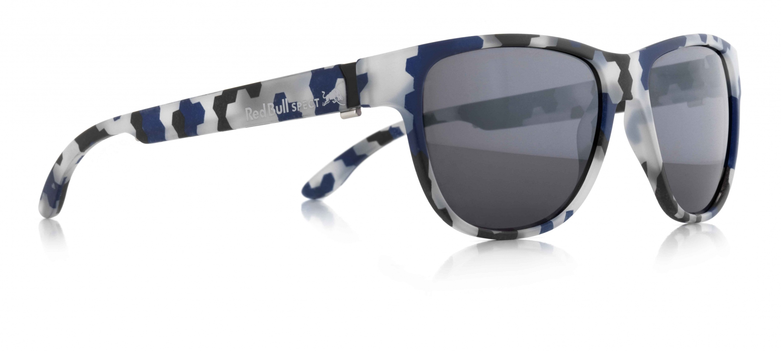 66e0689aab1d Red Bull Spect Eyewear sports sunglasses Wing3 blue camouflage (005PN).  Enlarge