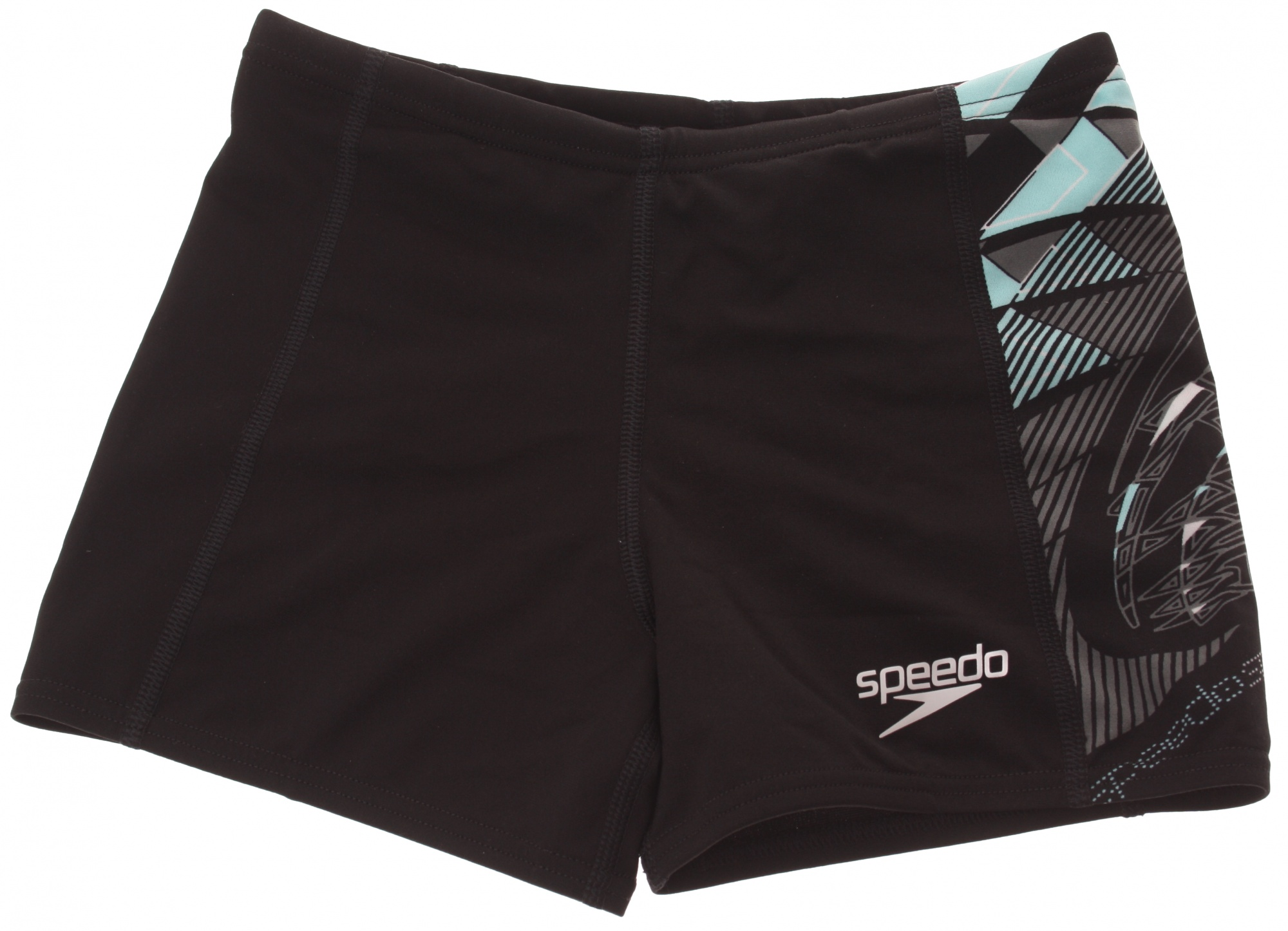 Zwembroek Speedo.Speedo Swimsuit Aqua Evolve Men Black Internet Sport Casuals