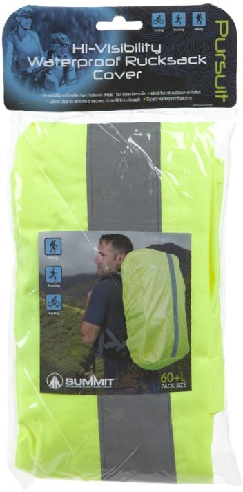 34451dfdf86 Summit Hi-Vis Waterproof regenhoes rugzak 20 liter geel - Internet ...