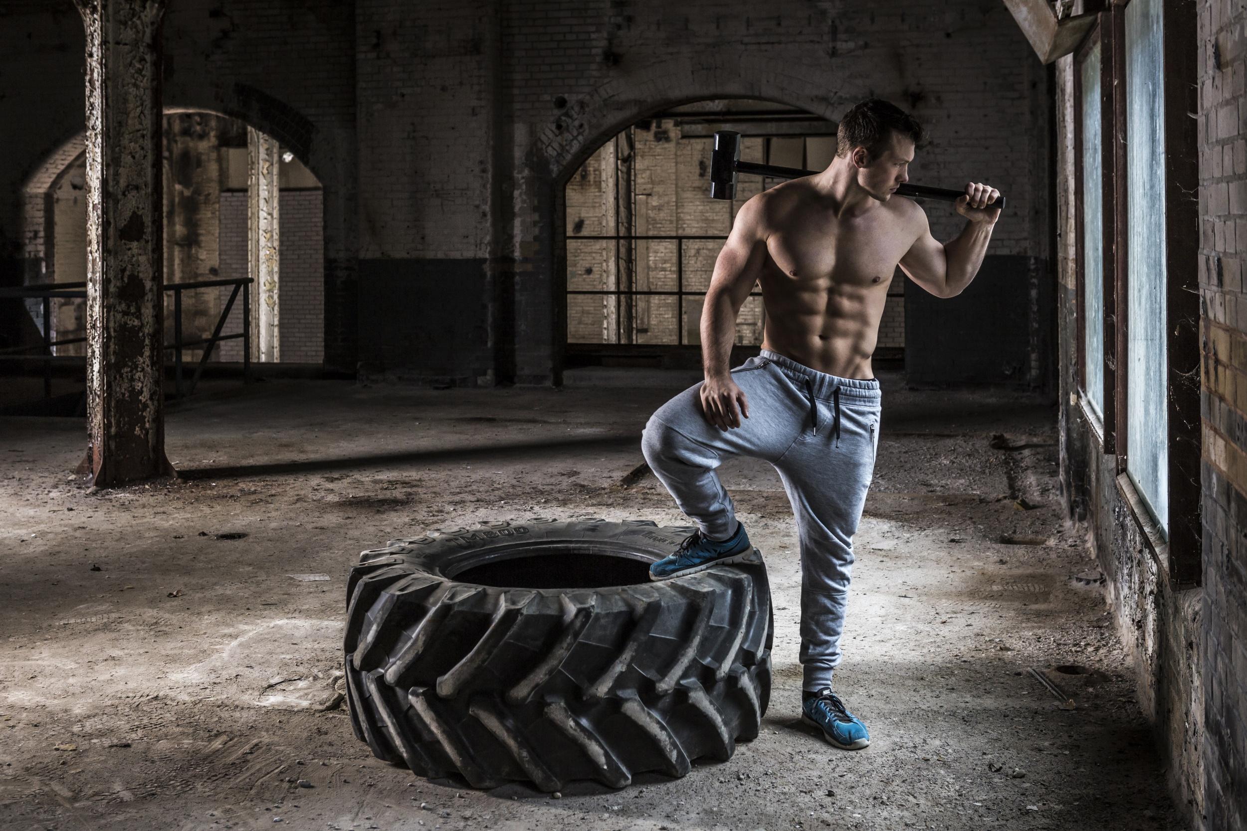 Tunturi gewicht Hammer Gym Hammer 4 kg schwarz