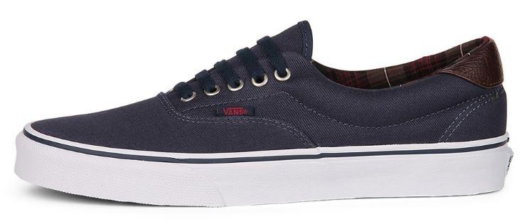 vans sneakers blauw
