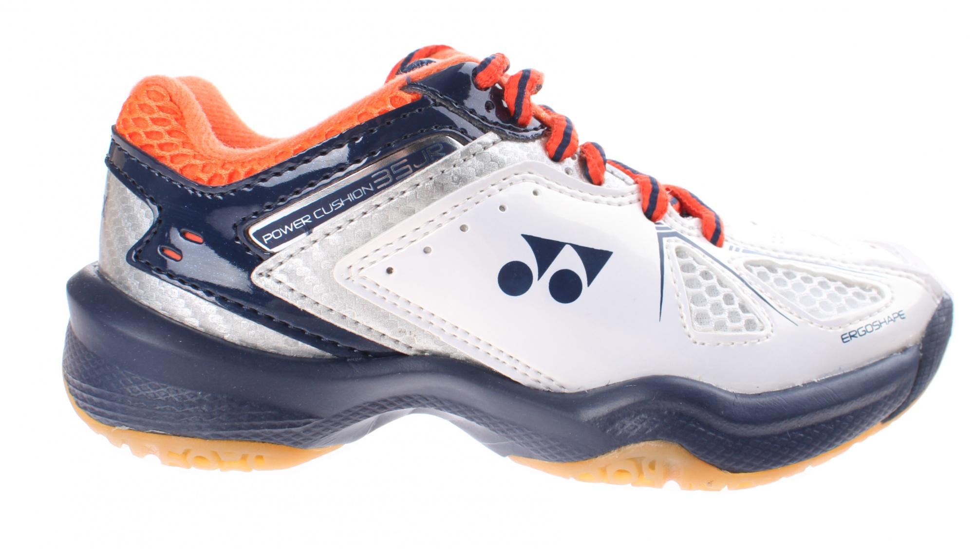 choose genuine purchase genuine shopping badminton shoes SHB junior white/blue/red