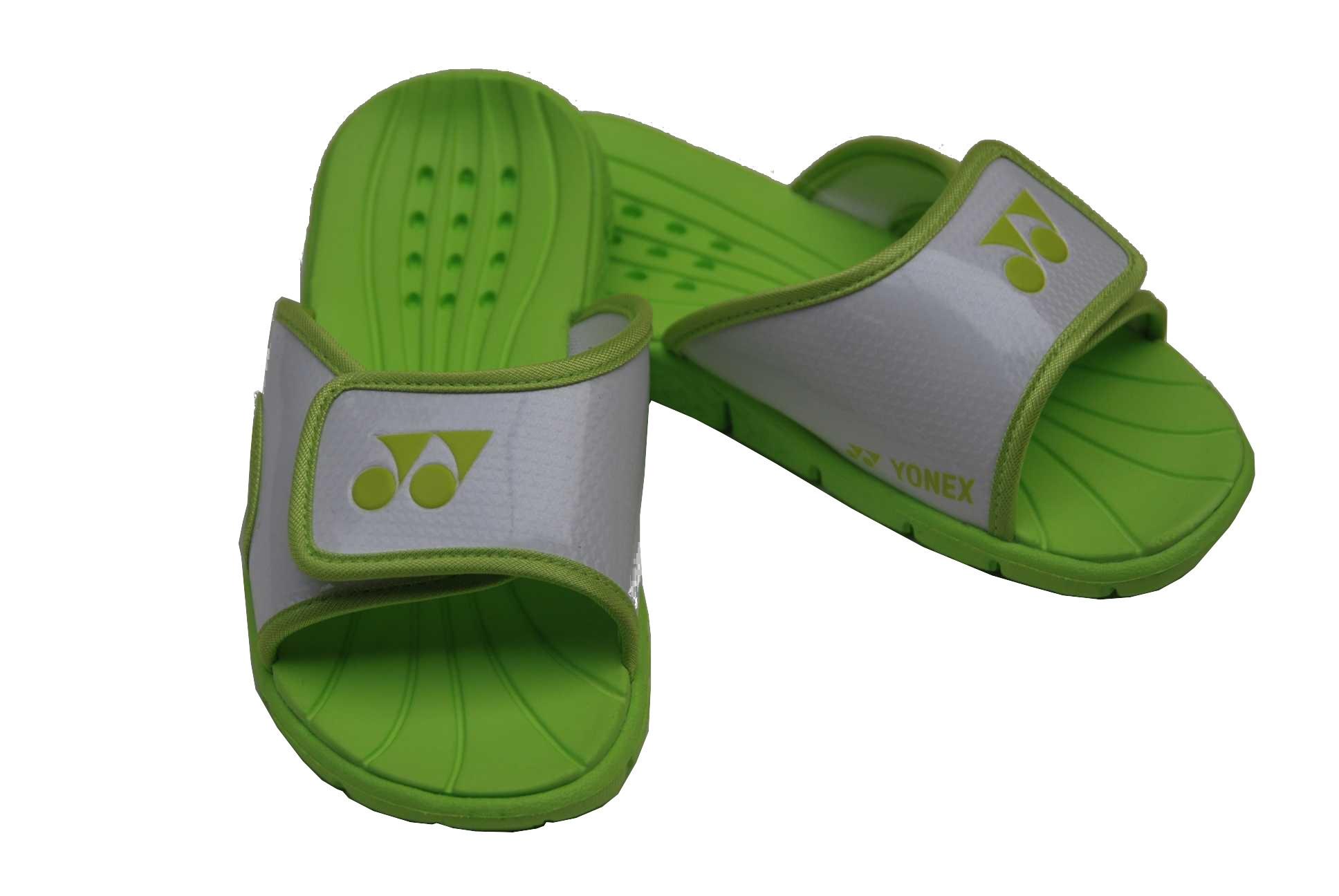 0a6e30693 Yonex (Tennis) slippers white   lime - Internet-Sport Casuals